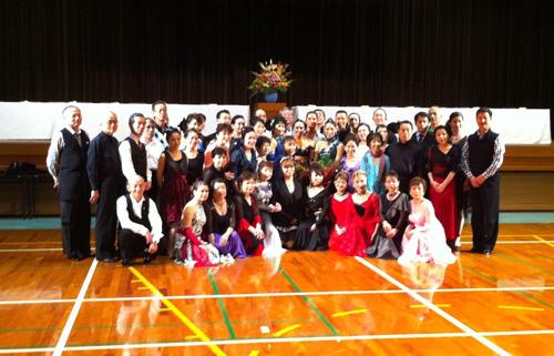 平戸での社交ダンススポーツパーティー大会