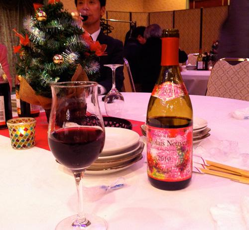 松浦シティホテルのボジョレー・ヌーボーワイン会