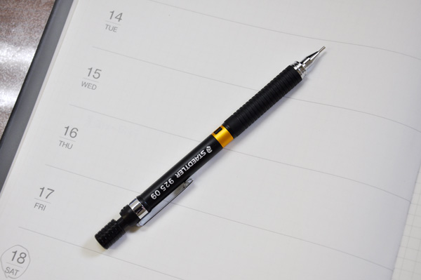staedtler 925の0.9mm芯
