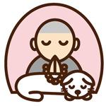 動物のお坊さんロゴマーク制作