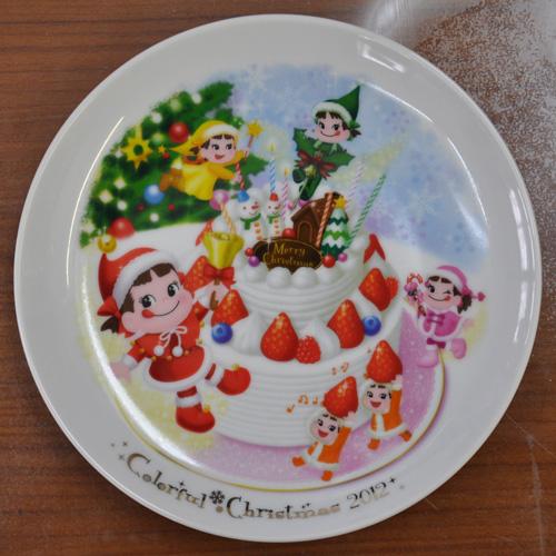 ペコちゃんクリスマスディッシュ2012