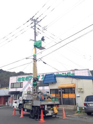 弊社の電気工事