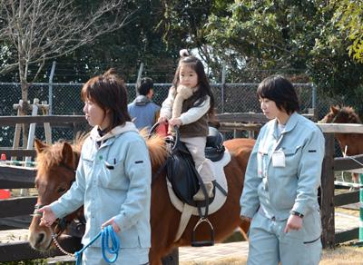 対州馬乗馬体験:森きらら/佐世保市